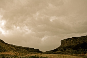 Storm in Owyhee Wilderness