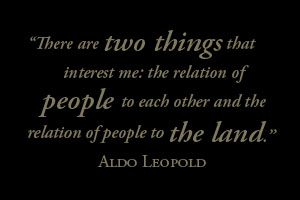 Aldo Leopold's - Land Ethic