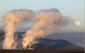 Smurfit-Stone Container Corp's Frenchtown pulp mill west of Missoula. Photo: Missoulian.
