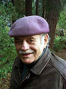 Dr. Michael Frome, with his trademark beret.