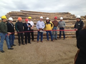Saratoga Mill ribbon cutting