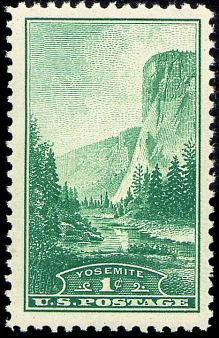 National Parks, Yosemite - green 740